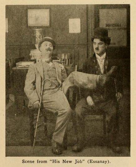 Charlie Chaplin, silent film