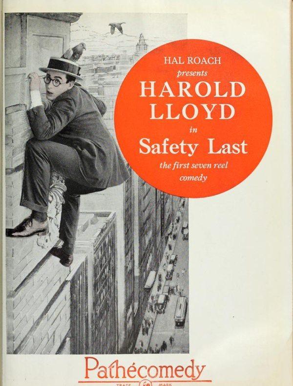 silent film, Harold Lloyd, Safety Last