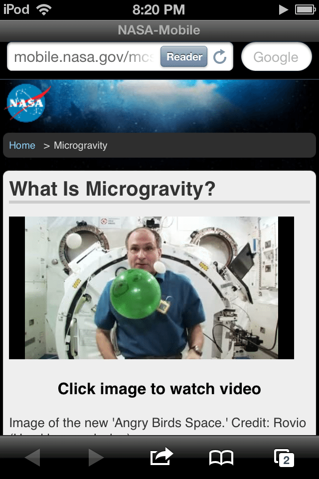 Angry Birds space app, Angry Birds space game, space, NASA