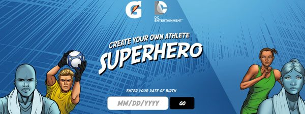 Learn how Gatorade teamed up with DC Comics to make cool interactive content.